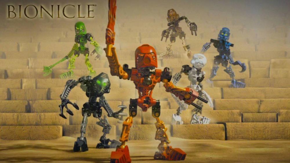 Bionicle action figures