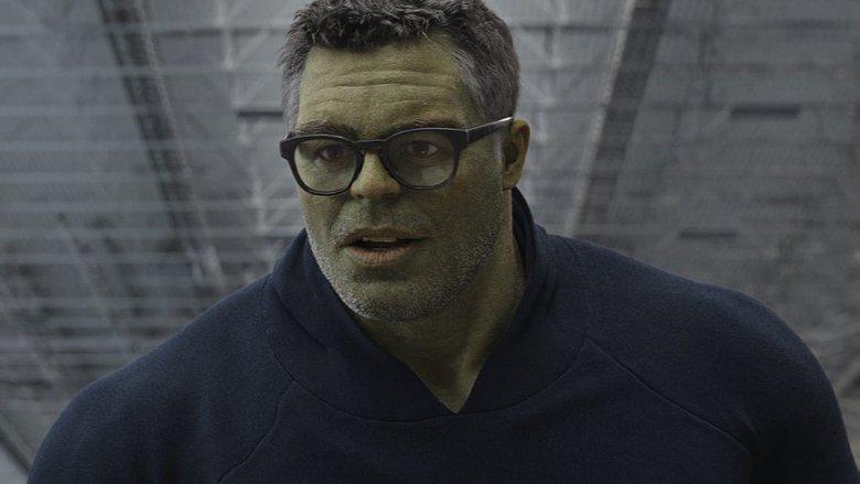 Mark Ruffalo as Professor Hulk in Avengers: Endgame