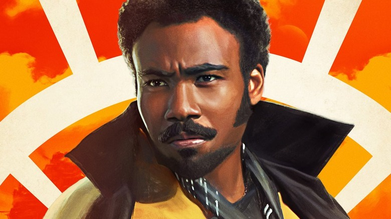 Donald Glover Lando Calrissian Solo: A Star Wars Story poster
