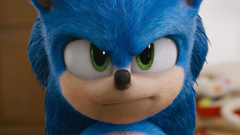 Still from Sonic the Hedgehog