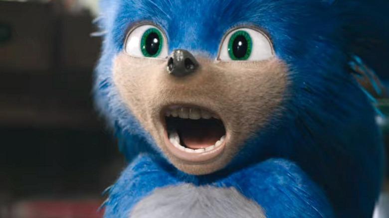 Sonic the Hedgehog live-action design