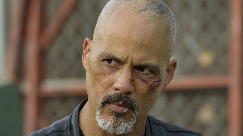 David Labrava with a toothpick