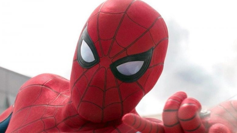 Tom Holland Spider-Man suit