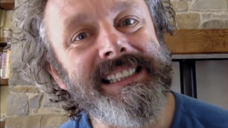 Michael Sheen as himself in Staged