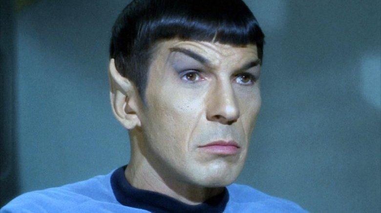 Leonard Nimoy as Spock on Star Trek