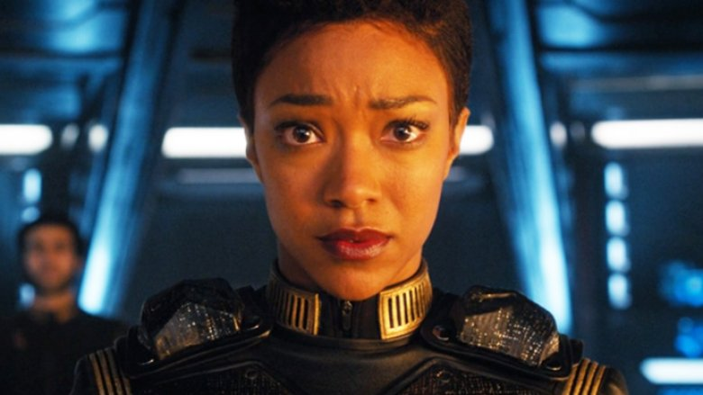 Sonequa Martin-Green as Michael Burnham on Star Trek: Discovery