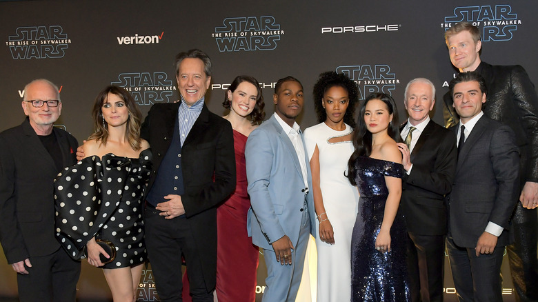 Star Wars Actors React To The Rise Of Skywalker