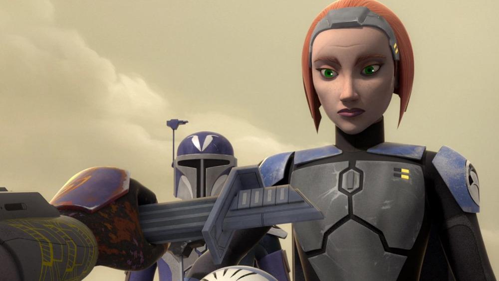 Bo-Katan Kryze on Star Wars Rebels