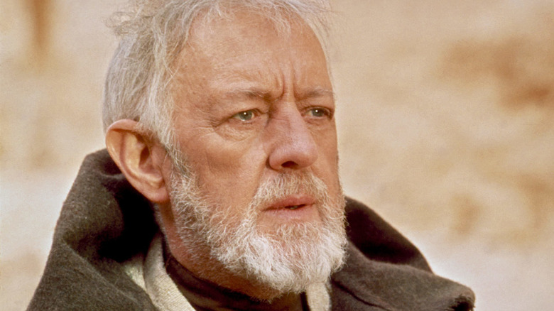 Alec Guinness as Obi-Wan Kenobi in Star Wars