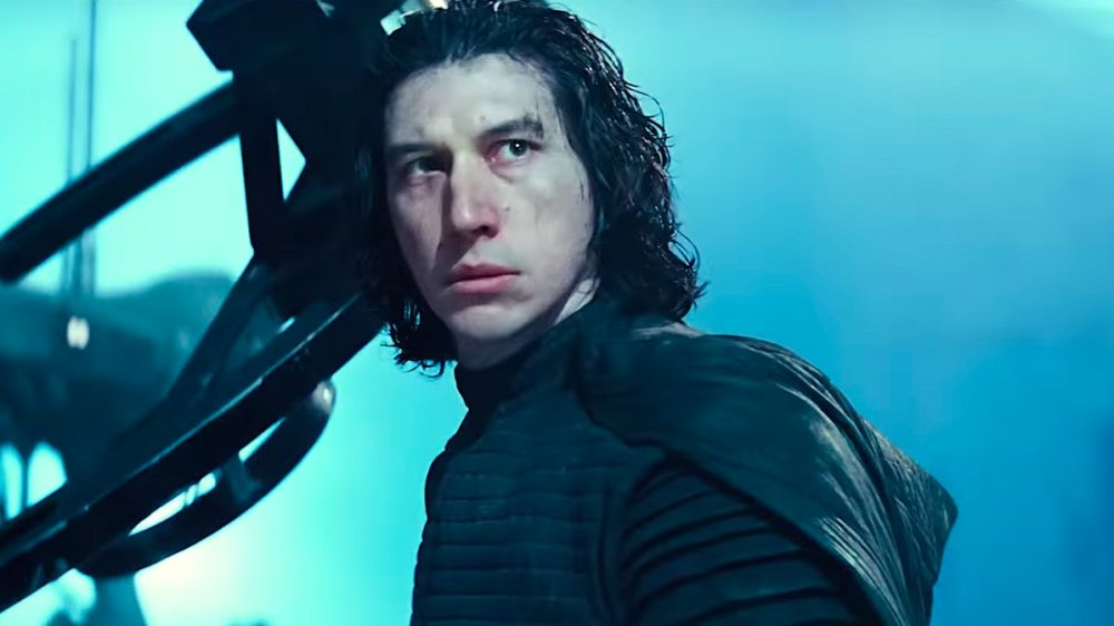 Adam Driver as Kylo Ren in Star Wars: The Rise of Skywalker