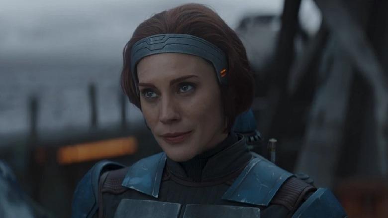 Katee Sackhoff as Bo-Katan on The Mandalorian