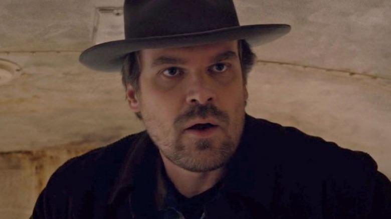 David Harbour as Jim Hopper on Stranger Things