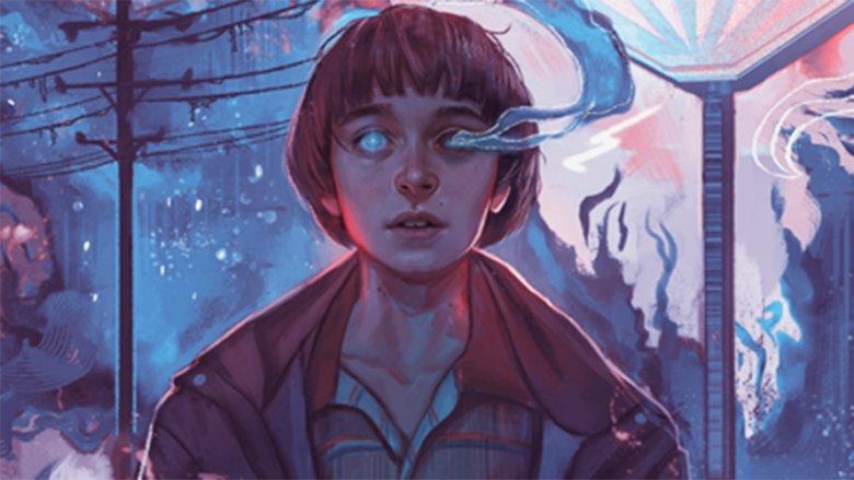 Noah Schnapp Will Byers Stranger Things season 2 fan art