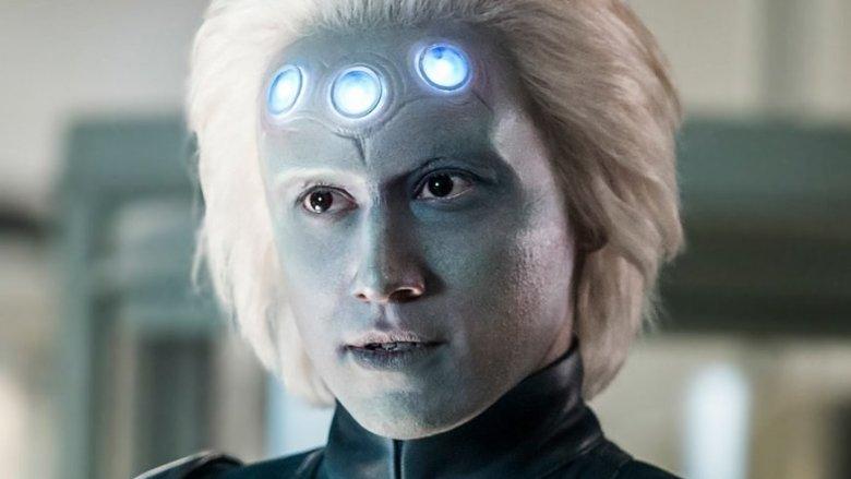 Jesse Rath as Brainiac-5 on Supergirl