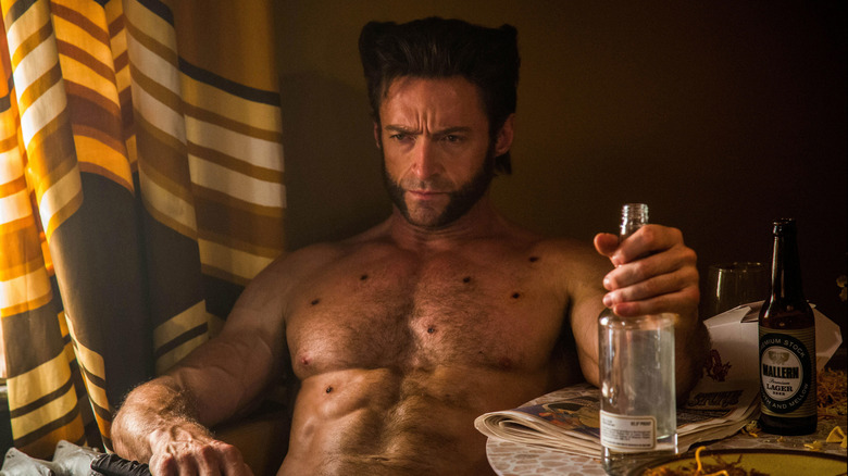"Hugh Jackman as Logan/Wolverine in ""X-Men: Days of Future Past"""