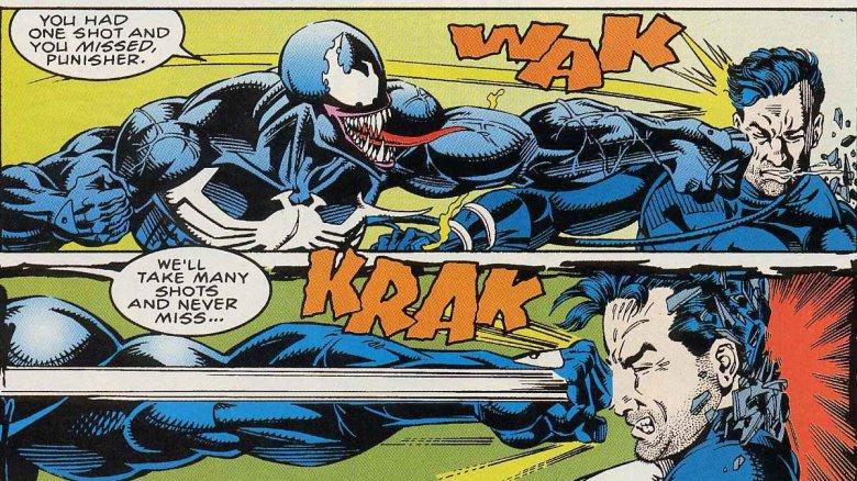 Punisher vs Venom
