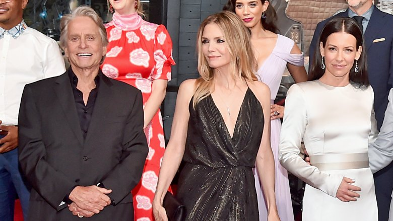 Michael Douglas Michelle Pfeiffer and Evangeline Lilly