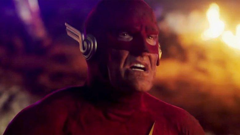 John Wesley Shipp as the Flash of Earth-90