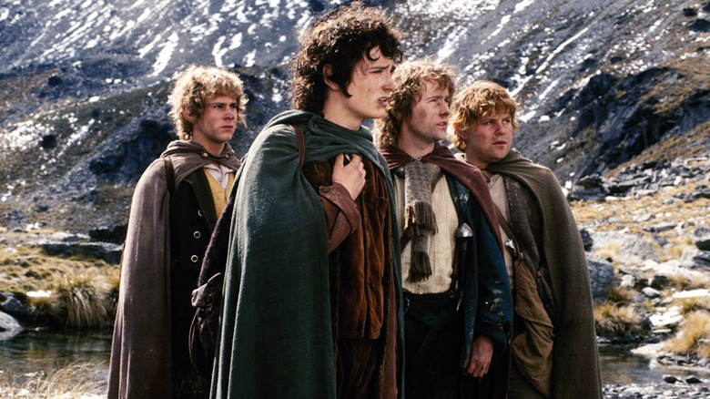 The hobbits going on adventure