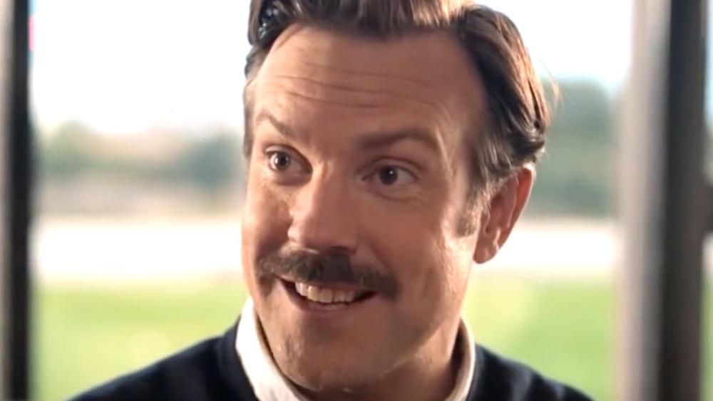 Jason Sudeikis as Ted Lasso smiling