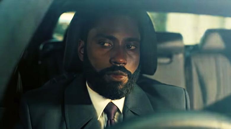John David Washington as the Protagonist in Christopher Nolan's Tenet