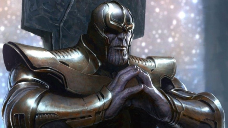 Thanos Guardians of the Galaxy Charlie Wen