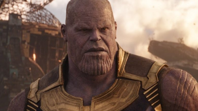 Josh Brolin Thanos Avengers Infinity War