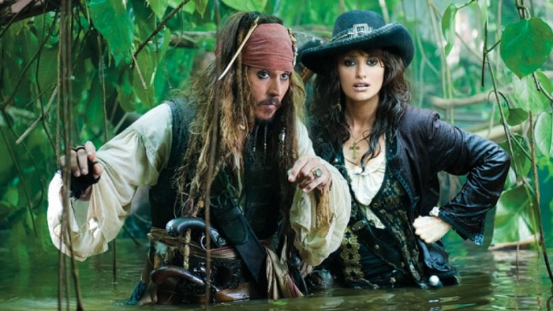 Scene from Pirates of the Caribbean: On Stranger Tides
