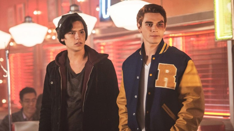 Cole Sprouse and KJ Apa in Riverdale