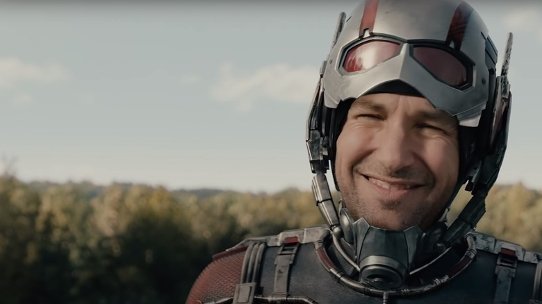 Paul Rudd as Ant-Man
