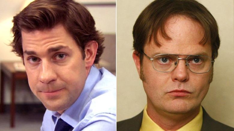 Jim Halpert Dwight Schrute The Office