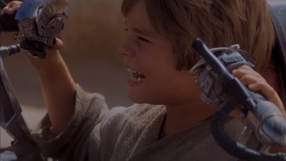 Anakin Skywalker in Phantom Menace