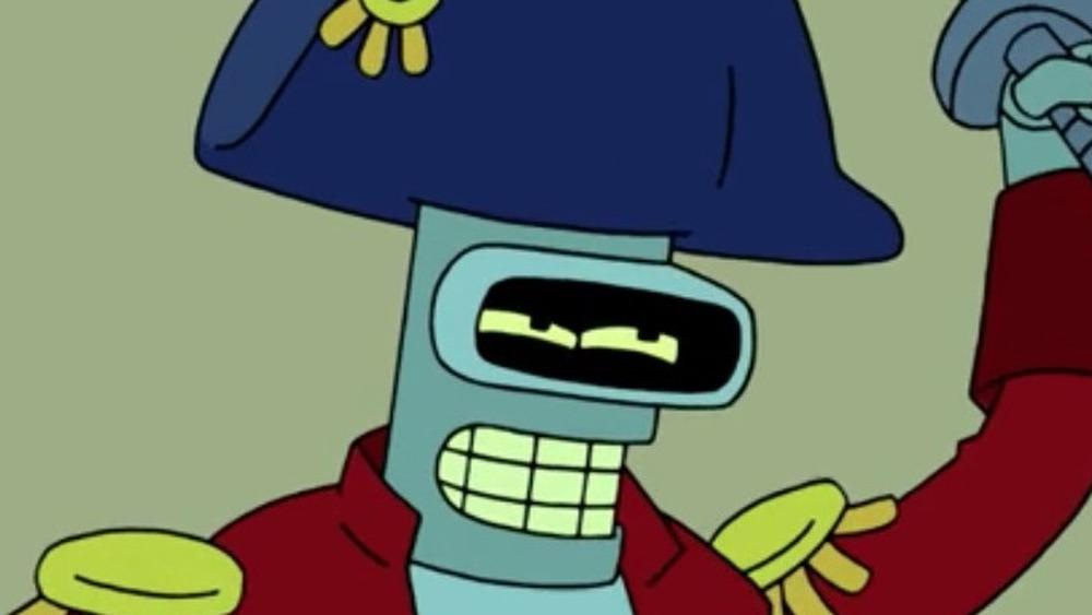 Pirate Bender swashbuckling