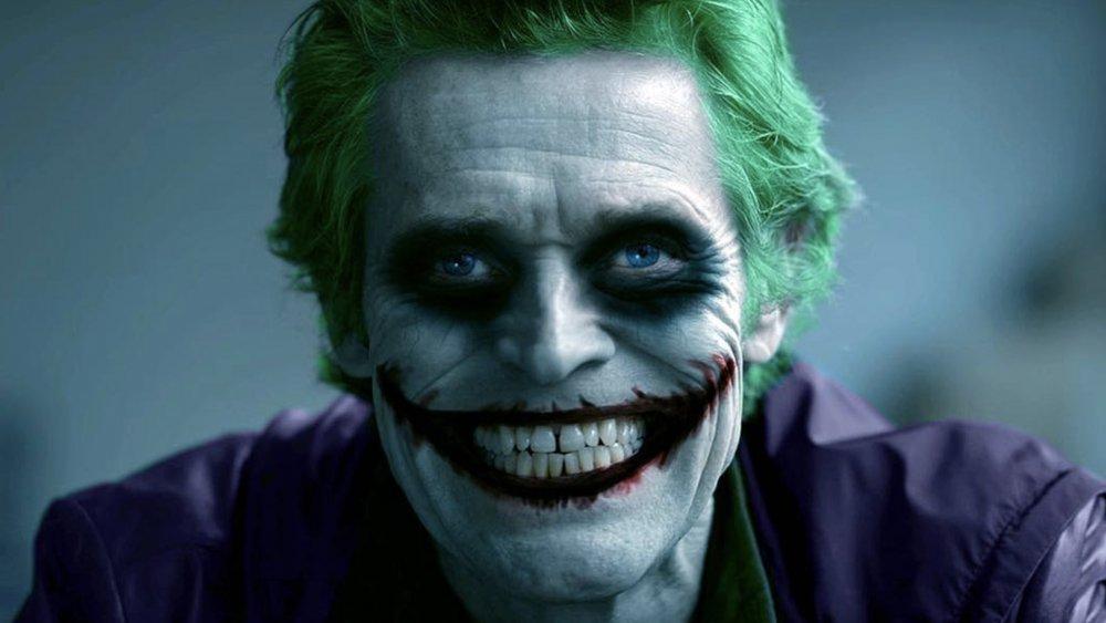 Willem Dafoe as the Joker fan art