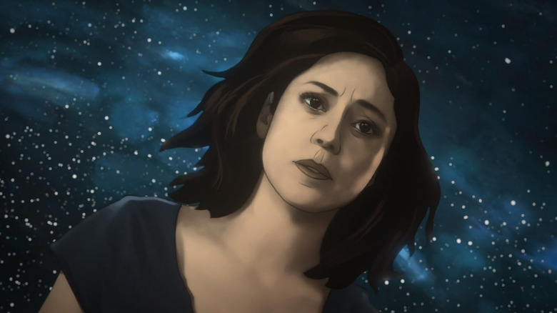 Rosa Salazar as Alma in Undone