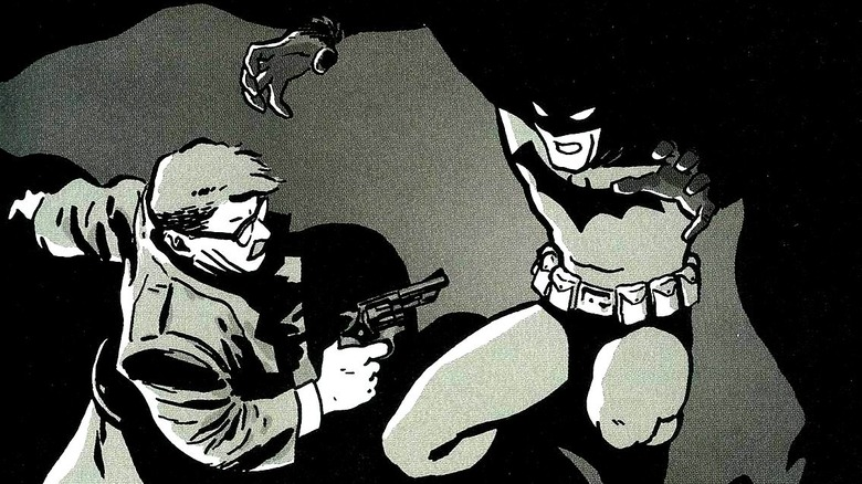 Batman and Jim Gordon in Batman: Year One