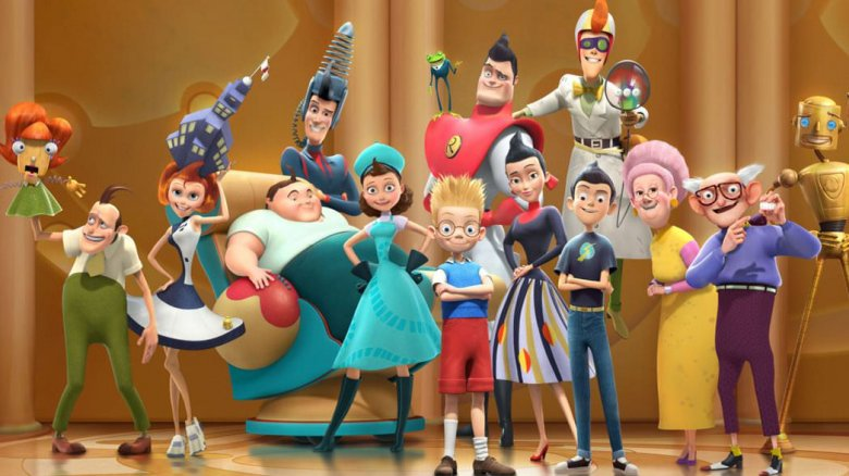 The cast of Meet the Robinsons