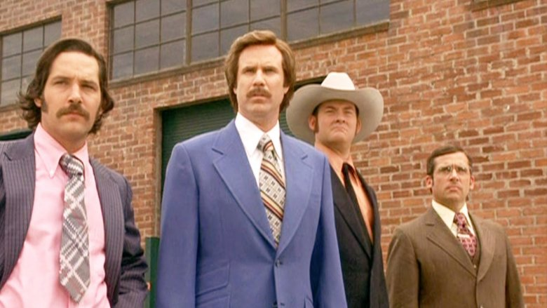 Scene from Anchorman