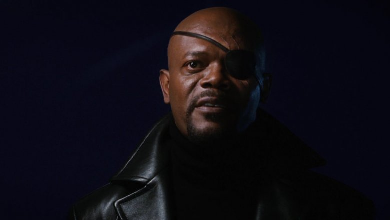 Samuel L. Jackson in Iron Man