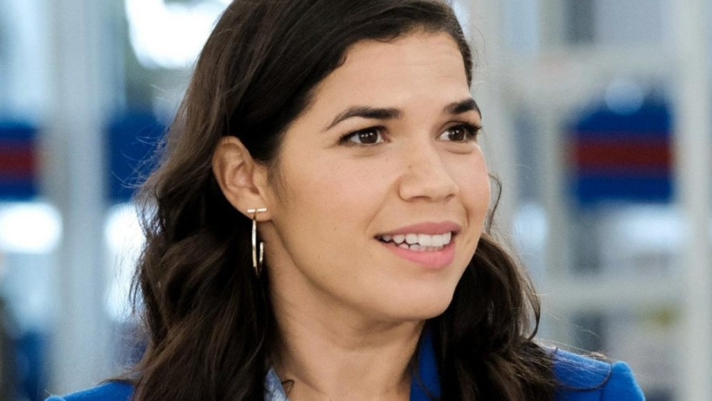 Superstore America Ferrera in close-up