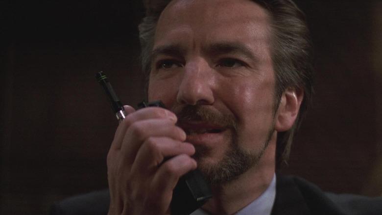 Alan Rickman as Hans Gruber in Die Hard