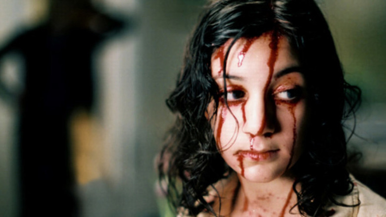 Lina Leandersson in Let the Right One In
