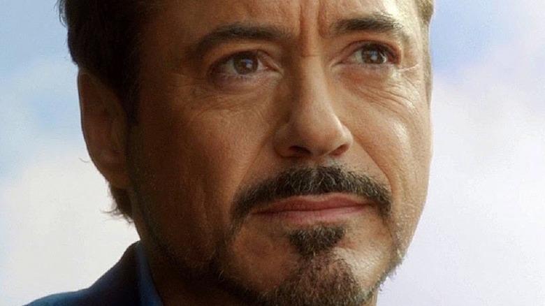 Tony Stark smiling
