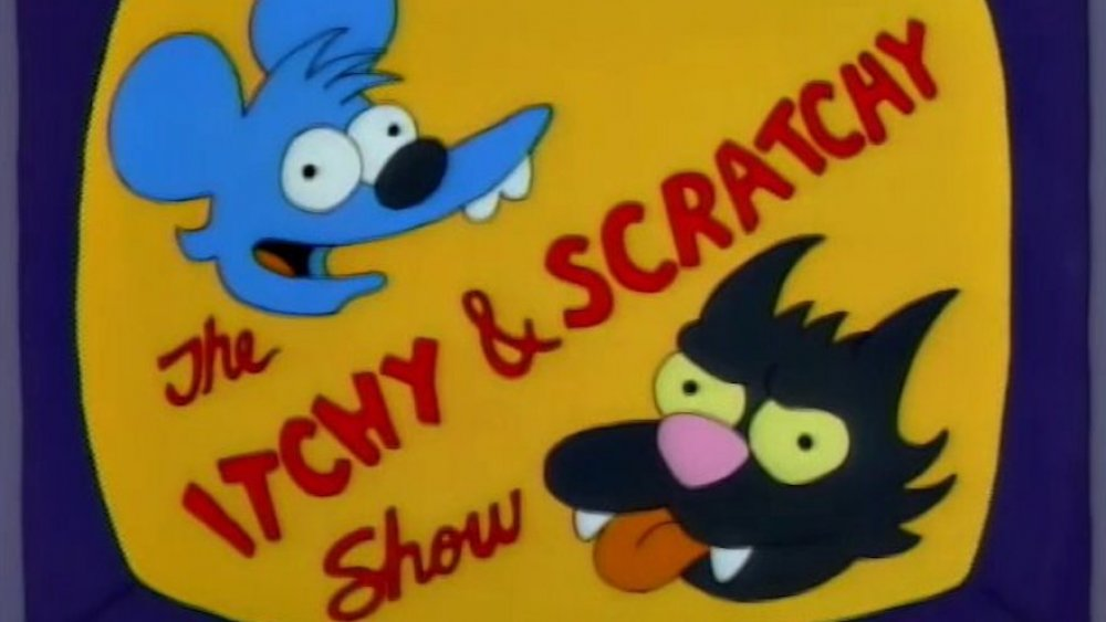 Itchy and Scratchy from The Simpsons