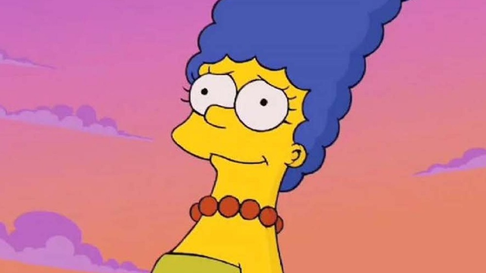 Marge Simpson smiling