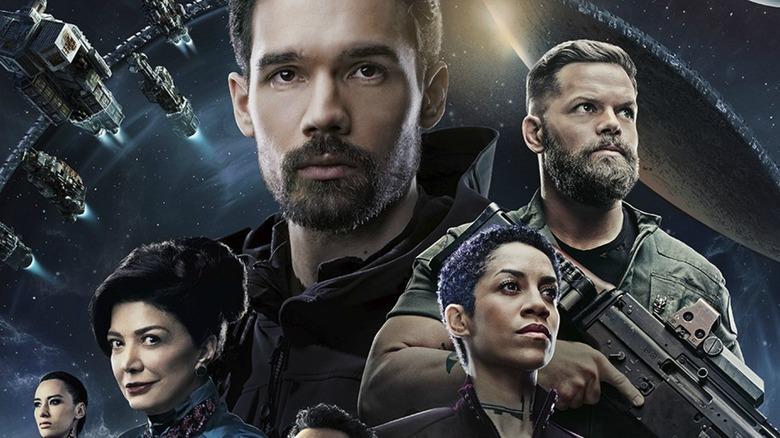 Promotional art for The Expanse, Season 4