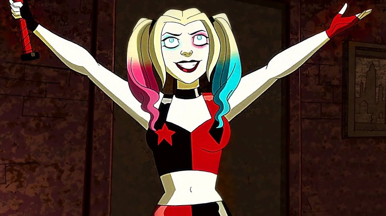Harley Quinn as seen on the animated Harley Quinn series