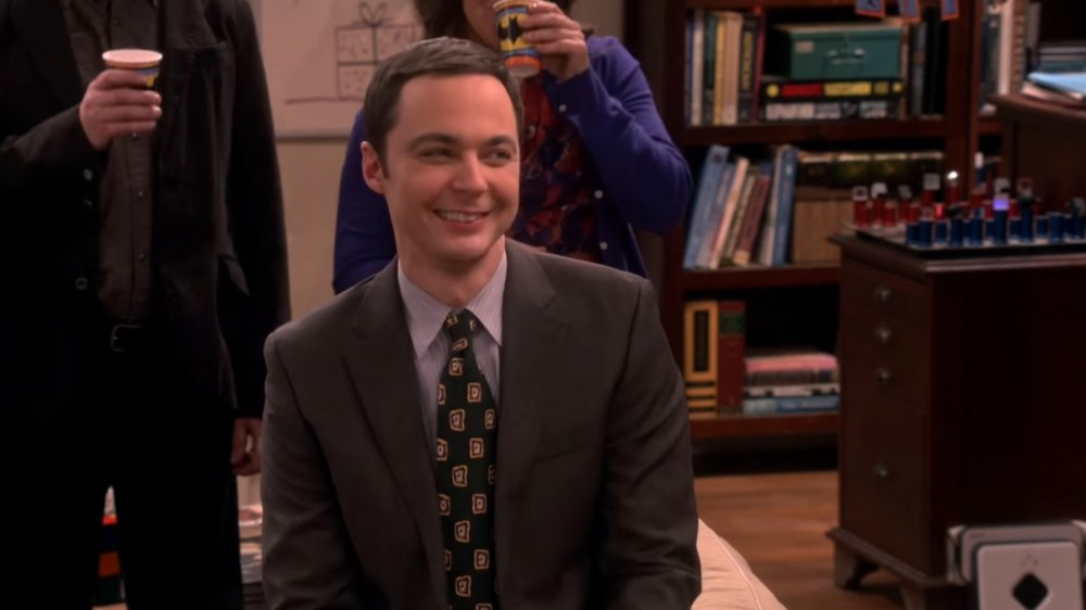 Jim Parsons as Sheldon Cooper on The Big Bang Theory