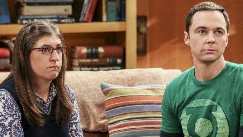 The Big Bang Theory Mayim Bialik Jim Parsons Amy and Sheldon