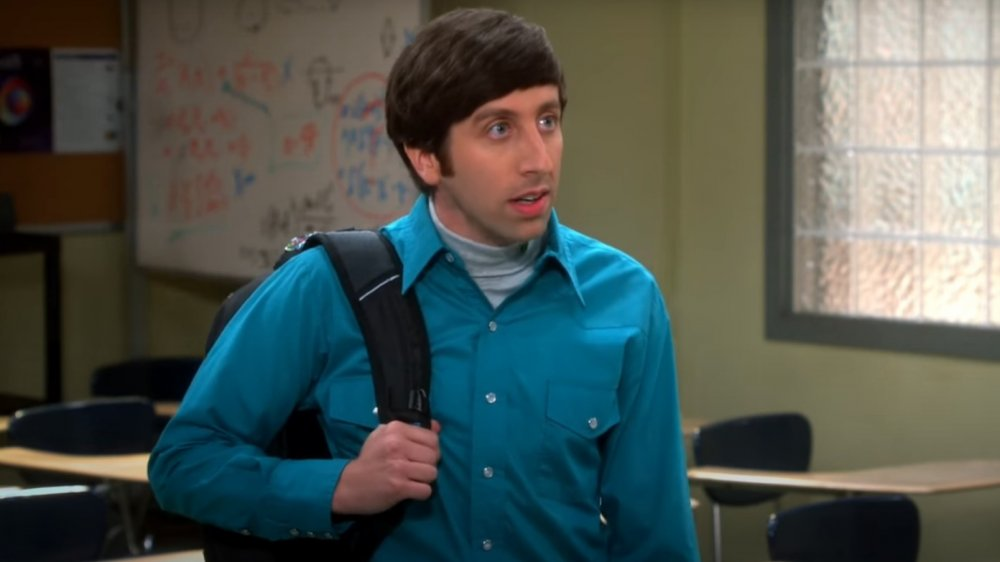Simon Helberg as Howard on The Big Bang Theory